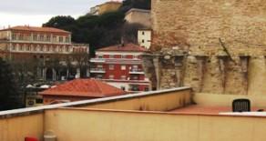 Corso Cavour appartamento con terrazzo di mq.30