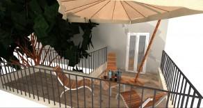 Borgo XX Giugno appartamento ristrutturato con splendido terrazzo