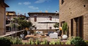 Corso Cavour appartamento con terrazzo di mq. 81
